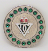 5th INNISKILLING DRAGOON GUARDS BROACH / BROOCH (SGS)